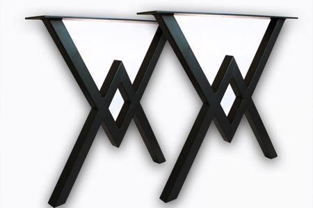 Kovové stolové nohy diamond V-V - TF1016