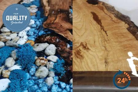 IN-EPOX 4090 Crystal živica na zalievanie dreva a betónu