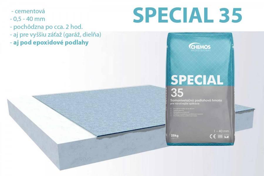 IN-CEM 20 samonivelačný vyrovnávací poter