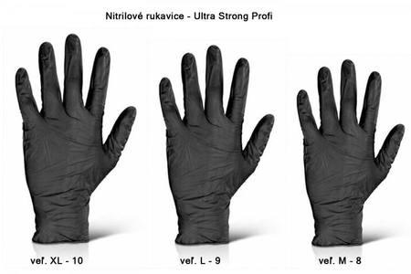 nitrilove rukavice pre pracu s chemiou