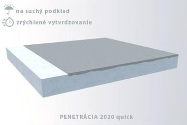 Penetrácie pod liate podlahy